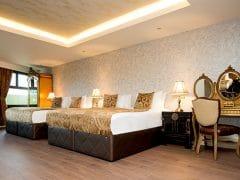 Opium hotel room in Liverpool