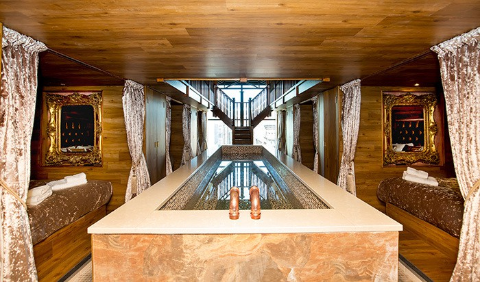 Laurent Perrier Pool Room