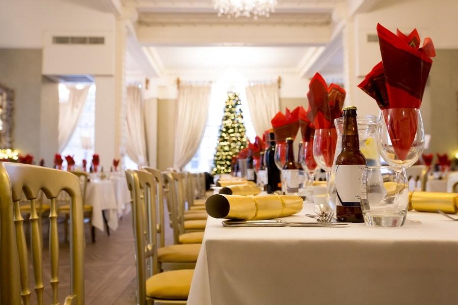 Liverpool Christmas dinner at 30 James Street