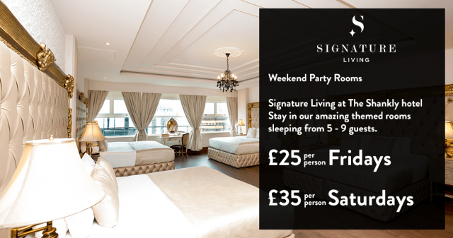 Weekend party rooms - Liverpool accommodation offers