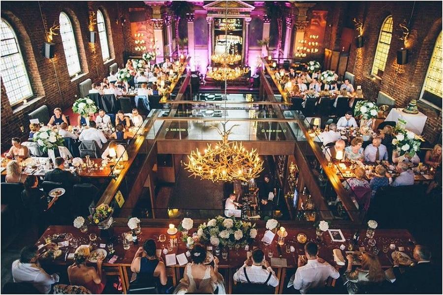 Alma de Cuba wedding dinner - Signature Living Weddings