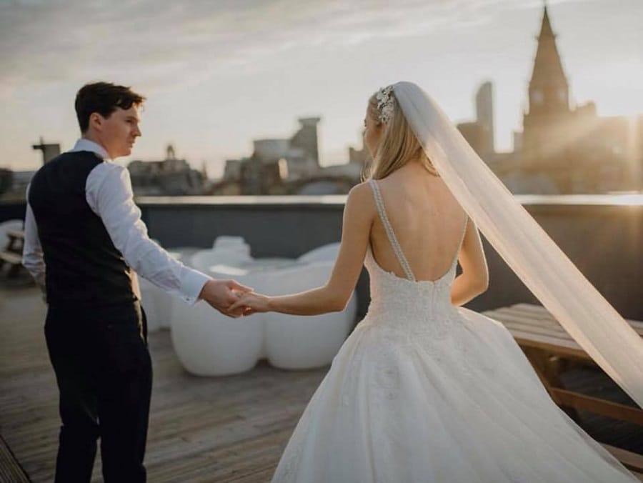 Garden of Eden rooftop - Signature Living Weddings