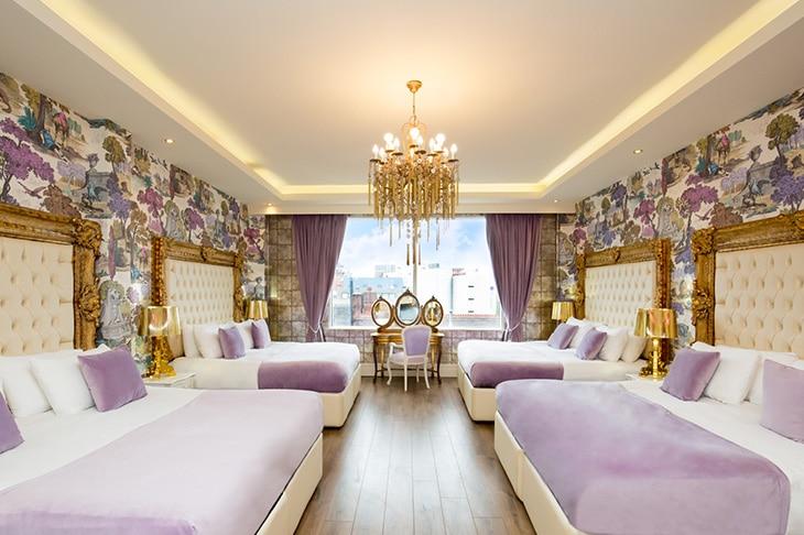Signature party hotel suites - Indulgence