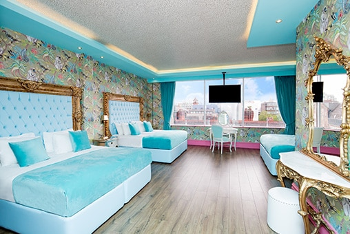 Nature suite - group party hotel rooms in Liverpool