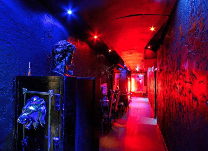 Vault hallway - Liverpool accommodation