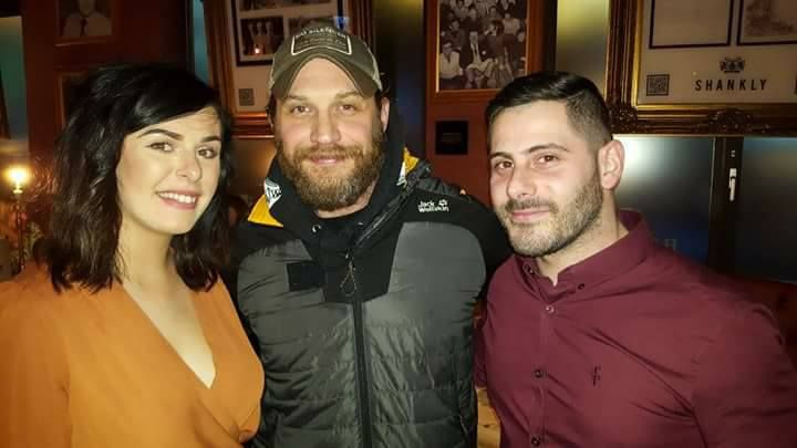 Tom Hardy at The Shankly Hotel