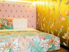 Flamingo Bed in The Shankly Hotel