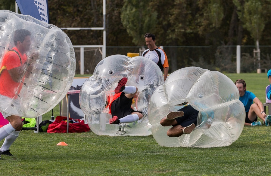 Bubble football - stag weekend packages in Liverpool