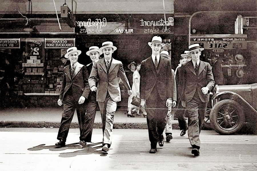 Gangsters - stag do fancy dress ideas