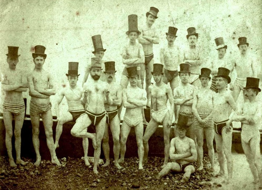Gents on the town - stag do fancy dress ideas