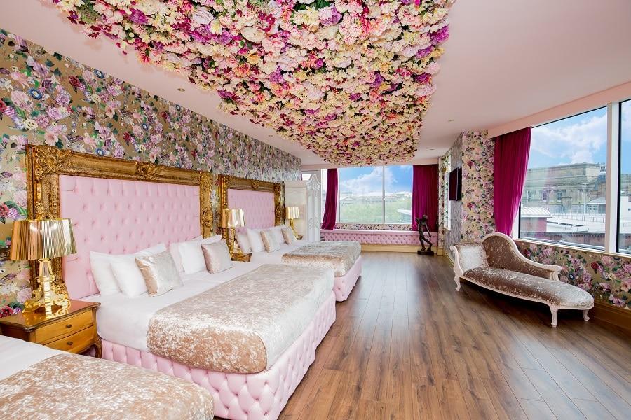 Garden of Eden suite for teen parties