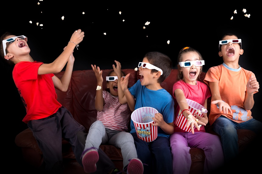Pop Up floating cinema - things to do in school holidays