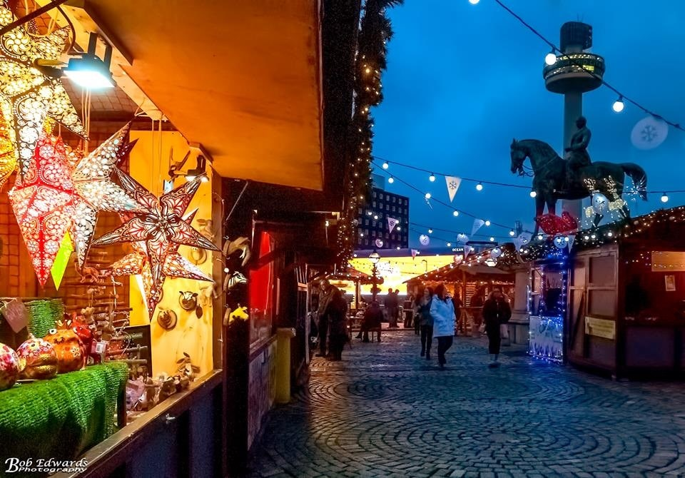 Liverpool Christmas markets - winter city breaks