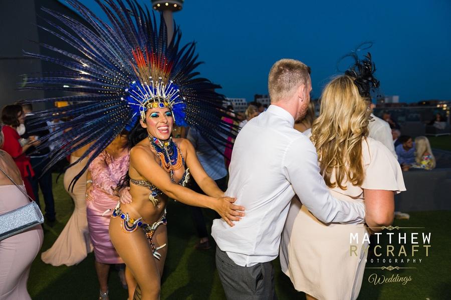 Alma dancers wedding