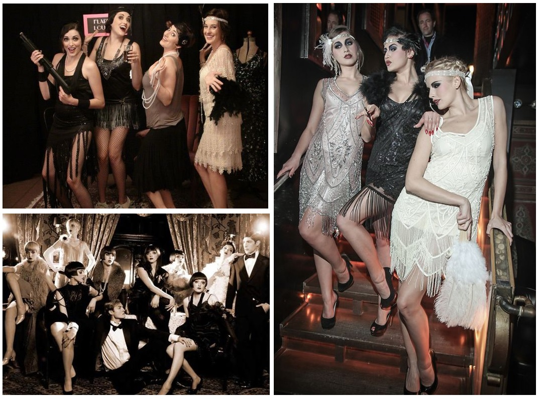 Flappers - hen party fancy dress theme