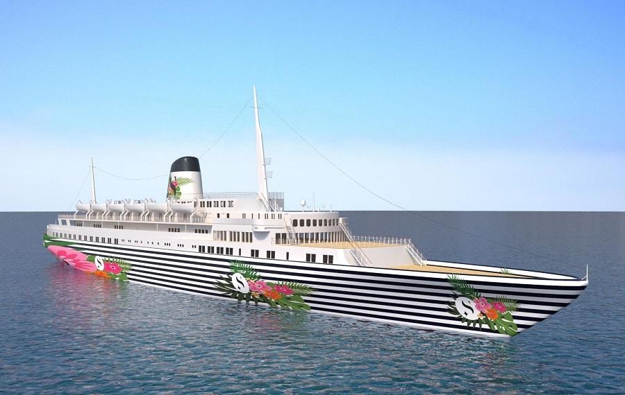 The Funchal floating beach club