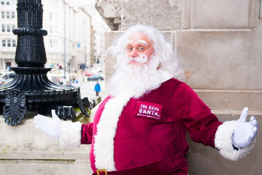 Sunday Lunch with Santa - fun things to do in Liverpool