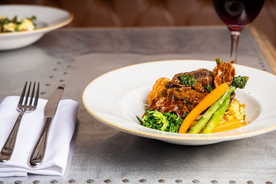Slow Braised Lamb Shoulder - The Bastion Bar and Restaurant - autumn city breaks